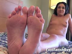 heiße sexy rothaarige füße