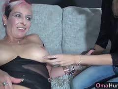 Lesbische Oma Sex-Filme